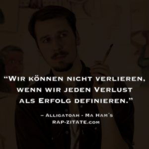 Alligatoah Rap Zitate
