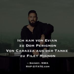 Shindy Rap Zitate